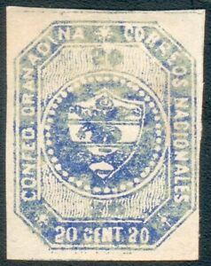 Colombia -Granadische Konfödertation Mi.-Nr.4* (MICHEL € 280,00) feinst - RRR