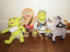 Shrek soft plush figure toy Gingy Donkey Shrek Baby bundle playset