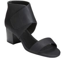 🔥🔥 New Aerosoles Midpoint Ankle Cuff Sandal Size 9 Black Women's Open Toe 🔥🔥