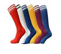 New Football Stripe Socks Rugby Hockey Soccer Free Delivery Mens Womens Kids UK