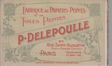 Fabrique de Papiers Peints et de Toiles - 24 spécimens pour la saison 1907-1908