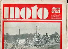 HEBDOMADAIRE MOTO VITESSE CROSS N°15. 1970.