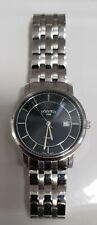 Gents Roamer Classic Designer Wristwatch Date/ Silver Steel Bracelet Chain 5ATM