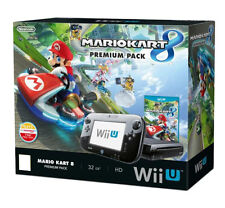 BOX Nintendo Wii U 32GB Console Mario Kart 8 Game Premium Bundle BEST GIFT