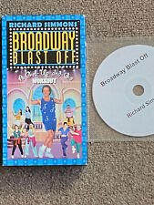 Richard Simmons Broadway Blast Off VHS & Backup DVD Excellent Condition Rare OOP