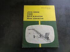 John Deere 200 Bale Elevator and Mow Conveyor Operator's Manual   OM-C13994