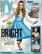 UK TV MAGAZINE 2015 KELLIE BRIGHT DANGER MOUSE KIERON RICHARDSON ANNETTE CROSBIE