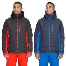 Trespass Mens Ski Jacket Padded Windproof Winter Coat With Hood