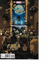 Secret Wars #1 PARTY VARIANT signed by Chip Zdarsky NM