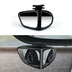 360° Adjustable Left Side Rear View Blind Spot Wide Angle Mirror Fit For Car SUV