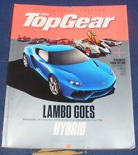 TOP GEAR SUBSCRIBER'S EDITION ISSUE 262 NOVEMBER 2014 - LAMBO GOES HYBRID