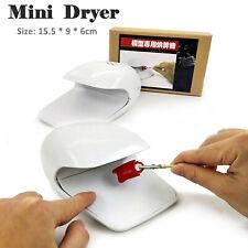 Modeling Tools Mini Desktop Dryer for Gundam Model Paint Part&Decals Accessories