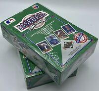 1990 UPPER DECK BASEBALL HIGH SERIES FACTORY SEALED (2) WAX BOXES 36 Packs Each