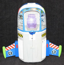 Disney Toy Story Buzz Lightyear Talking Command Center Electronic 2011 w/Scooter