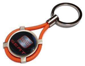 New Keychain For Seat Ibiza Leon Mii Car Motorbike Keyring Or