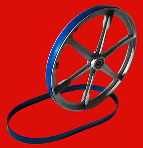 """2 ULTRA DUTY BLUE MAX URETHANE BAND SAW TIRES FOR WALKER TURNER  12"""" BAND SAW"""
