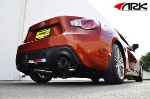 Scion FRS / Subaru BRZ ARK Performance GRiP Exhaust System w/ Burnt Tips