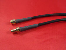 10 ft  RFC195, Wi-Fi RP-SMA Male to Female Antenna Extension Cable .