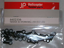 6602336 R/C Helicopter Spares & Accessories Twister 3D Storm Ball Link End (20)
