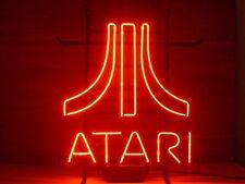 New Red ATARI Video Game Room Man Cave Neon Sign 17''x14'' GA2S