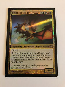 Scion of the Ur-Dragon - Time Spiral - Magic the Gathering - englisch - foil