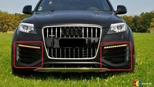 NEW GENUINE AUDI Q7 V12 07-16 O/S RIGHT N/S LEFT FRONT BUMPER LOWER GRILLS SET