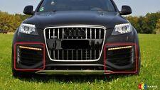 NUOVO Originale Audi Q7 V12 07-16 O / S Destro N / S SINISTRO PARAURTI ANTERIORE INFERIORE griglie Set