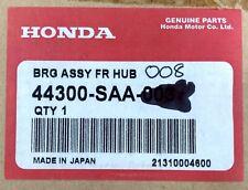 NEW GENUINE HONDA CIVIC ACCORD FRONT WHEEL BEARING - 44300SAA008