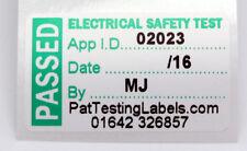 1000 Personalizado pasaron 4th edn. Pat prueba Etiquetas/Adhesivo 40 X 24mm Enchufe Top