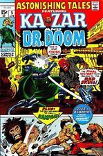 Astonishing Tales #5 G, Barry Smith art, Red Skull, Marvel Comics 1971