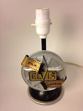 Vintage Elvis Presley Film Legend Collectors Table Lamp