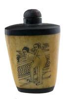 Bottiglia Bottiglietta Boccetta Arte Shunga Erotico Raro 25358
