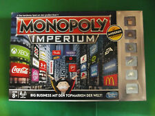 * MONOPOLY IMPERIUM * von Hasbro, Ausgabe 2014, mit anderen Spielfiguren
