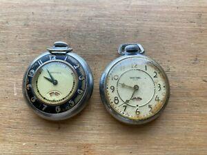 Ingraham Sentinel Pocket Watch Lot