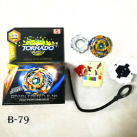 Beyblade Burst B-79 DUO ECLIPSE SUN AND MOON-GOD BEY With Launcher As Gift