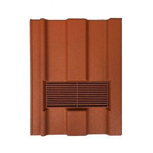 Roof Tile Vent To Fit Redland Renown | Terracotta Granular | 8 Colours