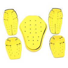 5pcs CE Motorcycle Jacket Hard Armor Protector Scooter Protective Pads
