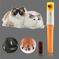 Pet Cat Nail Clipper Pedi Painless Dogs Cats .Paw Electric Nail Trimmer Cut Gift