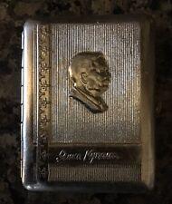 "New listing Antique Soviet Cigarette Case from Ukraine ""Yanka Kupala�"