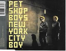 PET SHOP BOYS - New York city boy CDM 3TR Enh EU Release 1999 PARLOPHONE