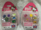 Lot Of 2 Hello Kitty Mega Bloks Toy Figurine SNAIL BEE 10881 10883 New