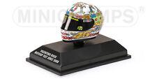 1:8 AGV Minichamps Valentino Rossi Helmet Casco Test Jerez 2008 Birthday NEW
