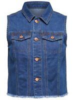 23/20 NEU JDY by ONLY Damen Jeans Weste jdyENZO WAISTCOAT Jacke Gr. M 38