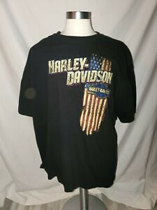 Harley Davidson Spokane WA Lone Wolf Shirt 3XL