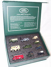 10 piece Military Land Rover Set 1-76 scale New in Hard Box 76Set57