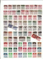 ALEMANIA / GERMANY REICH - LOT OF 81 STAMPS, USED (93% DISCOUNT Cat.)