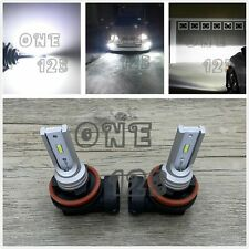 H11 H8 H9 LED Headlights Bulbs Kit Low Beam 6000K White For 2004-2006 Acura MDX