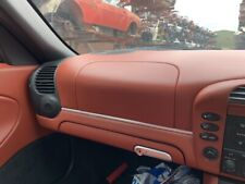 PORSCHE BOXSTER 986 RED LEATHER DASH AIR BAG PASSENGER SIDE RED LEATHER AIR BAG