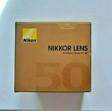 Nikon AF Nikkor 50 mm F/1.8D Full Frame Prime Lens for Nikon DSLR Cameras NEW