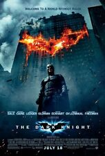 Batman THE  DARK KNIGHT / ORIGINAL ONE-SHEET A  MOVIE POSTER (CHRISTIAN BALE)